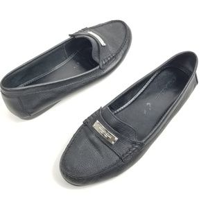 Coach Fredrica Loafer Size 10 Driving Shoe Black